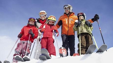 obiteljsko skijanje